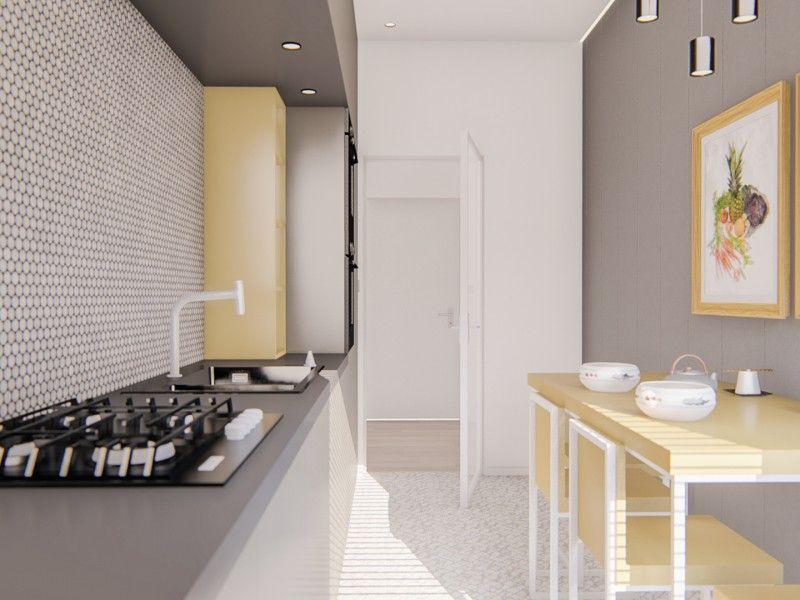 Apartament nou de vanzare, o camera Decomandat  Bucium -6