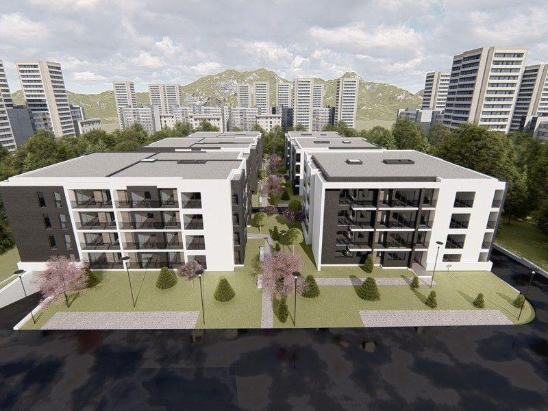 Apartament nou de vanzare, o camera Decomandat  Copou -2