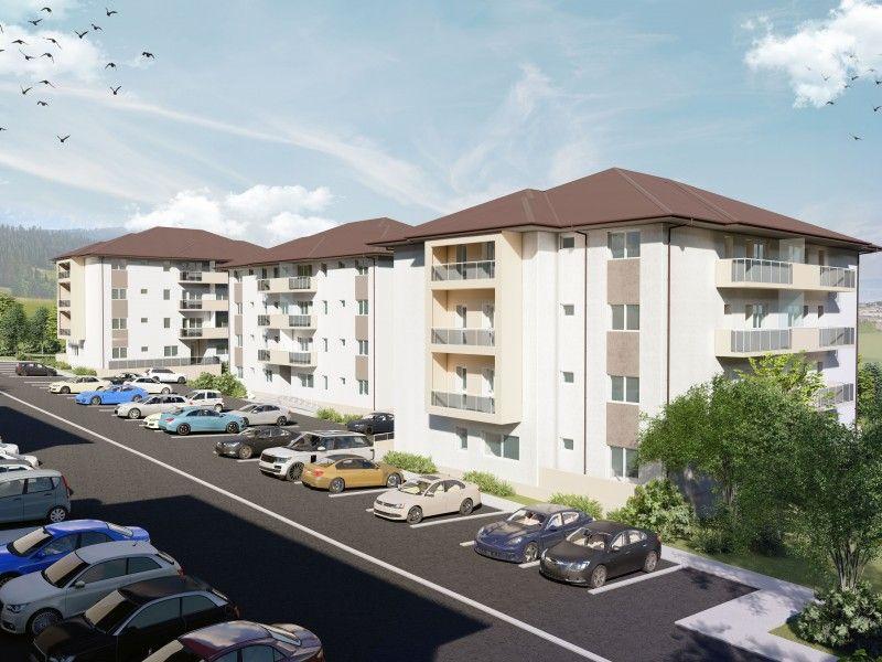 Apartament nou de vanzare, o camera Decomandat  Galata -3