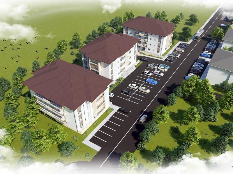 Apartament nou de vanzare, o camera Decomandat  Galata -4