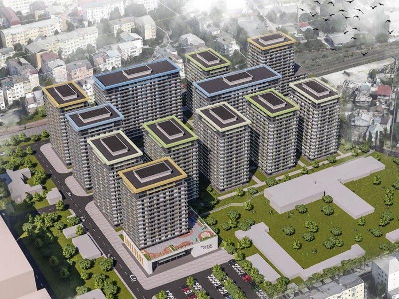 Apartament nou de vanzare, o camera Decomandat  Pacurari -2