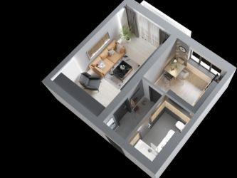 Apartament nou de vanzare, o camera Decomandat  Poitiers