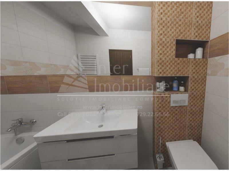 Apartament nou de vanzare, o camera Decomandat  Popas Pacurari -1