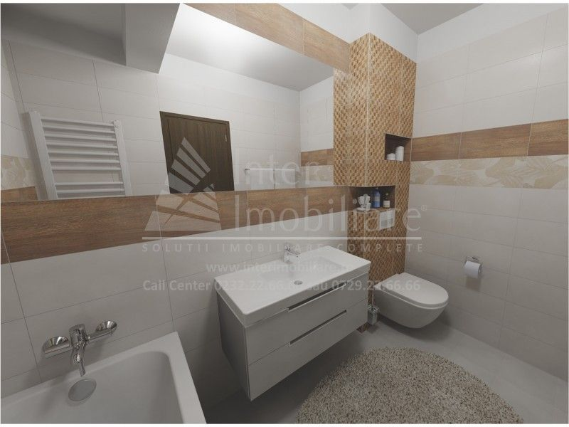 Apartament nou de vanzare, o camera Decomandat  Popas Pacurari -2