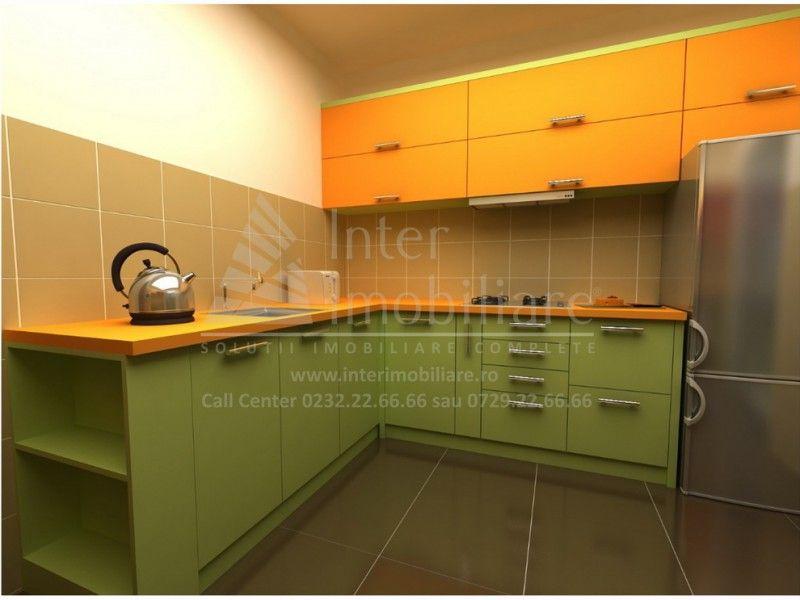 Apartament nou de vanzare, o camera Decomandat  Popas Pacurari -3