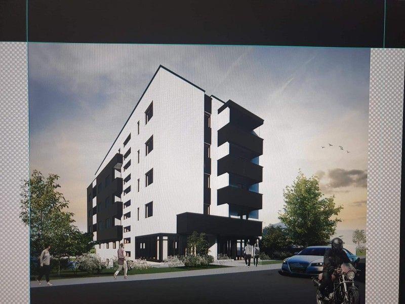 Apartament nou de vanzare, o camera Decomandat  Tatarasi -2