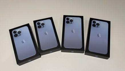 Apple iPhone 13 Pro 128GB  $650 Apple iPhone 13 Pro Max 128GB  $699