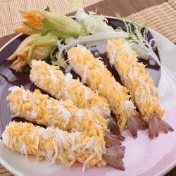 Aprovizionarea creveților cu pâine vietnameză