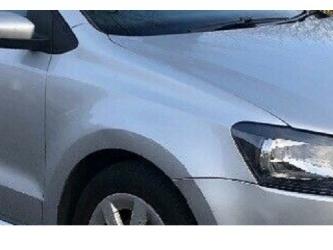 Aripa fata fara locas semnal dreapta VW Polo 6R 09 - 14 vopsita argint
