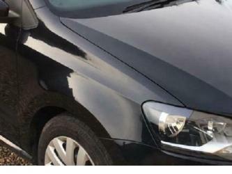 Aripa fata fara locas semnal dreapta VW Polo 6R 09 - 14 vopsita negru