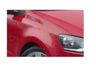 Aripa fata fara locas semnal dreapta VW Polo 6R 09 - 14 vopsita rosu P