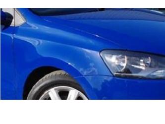 Aripa fata fara locas semnal stanga VW Polo 6R 09 - 14 vopsita albastr