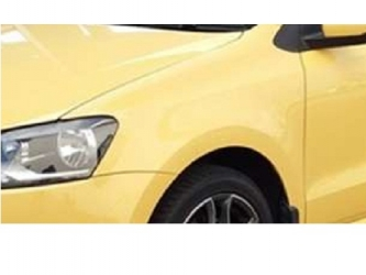Aripa fata fara locas semnal stanga VW Polo 6R 09 - 14 vopsita galben