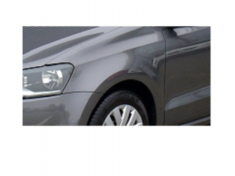 Aripa fata fara locas semnal stanga VW Polo 6R 09 - 14 vopsita gri Pro