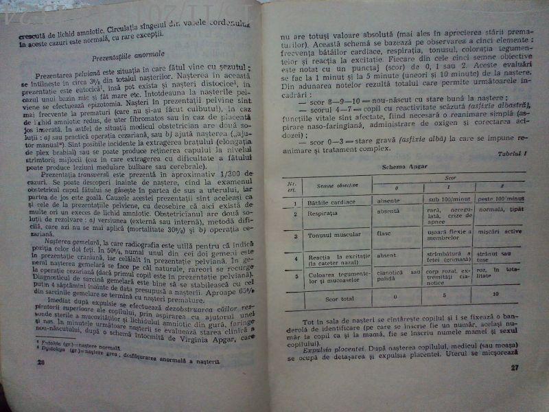 Arta Ingrijirii Copilului , Dr. Filon Medesan, Dr.T.Vlad , 1987-5