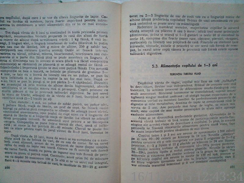 Arta Ingrijirii Copilului , Dr. Filon Medesan, Dr.T.Vlad , 1987-6