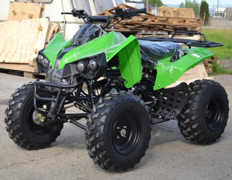 Atv Akp Model:Mega Warrior 125cc/Roti 10 Inch -1
