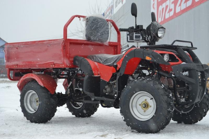 ATV Dumper 200 cc Cardan  REMORCA BASCULABILA CADOU CASCA 2019!!!!-3