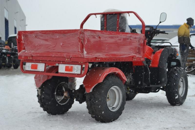 ATV Dumper 200 cc Cardan  REMORCA BASCULABILA CADOU CASCA 2019!!!!-4