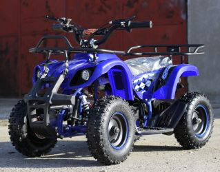 ATV Electric cu 3 viteze KXD ECO Torino 800W 36V #Blue