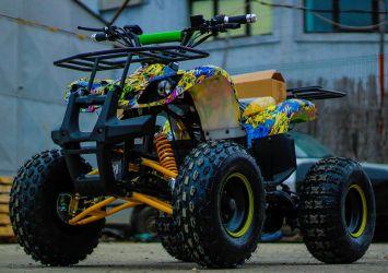 ATV electric NITRO Eco TORONTO 1000W 48V 20Ah Diferential #Grafiti