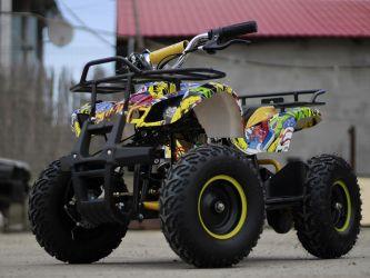 ATV electric pentru copii NITRO Torino Quad 1000W 48V  GRAFITI