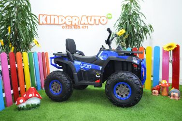 ATV electric pentru copii XMX607 2x45W 12V cu Scaun tapitat