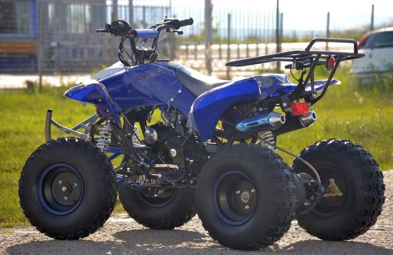 Atv Kxd Model:Alyen 125cc /Roti de 8 Inch-2