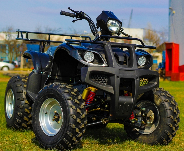 Atv Kxd Model:Mega Grizzly 125cc/Roti 10 Inch  -2