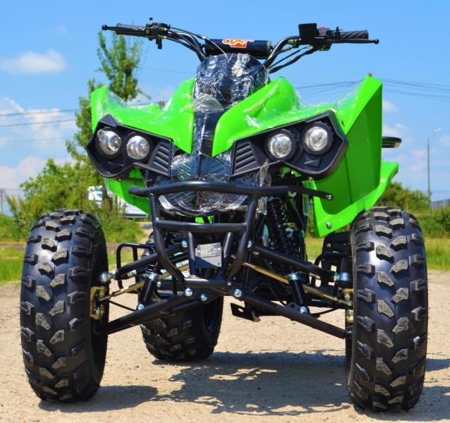 Atv Kxd Model:Mega Warrior 125cc#VERDE-1