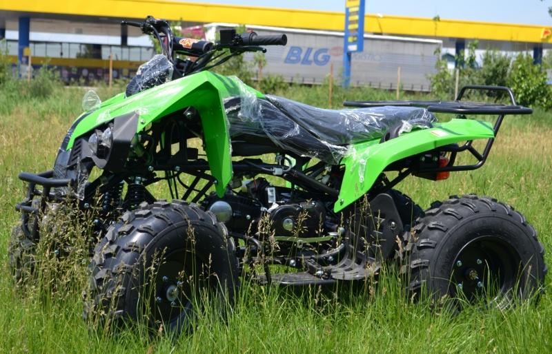 Atv Kxd Model:Mega Warrior 125cc#VERDE-2