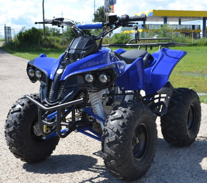 Atv Kxd Model:Warrior 125 cc/Roti de 8 Inch-1