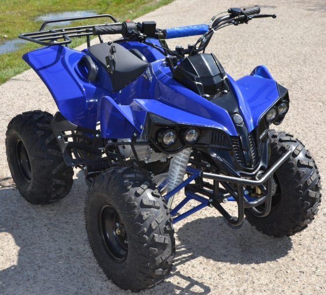 Atv Kxd Model:Warrior 125 cc/Roti de 8 Inch-2