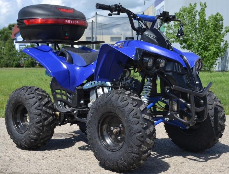Atv Kxd Model:Warrior 125 cc/Roti de 8 Inch-3
