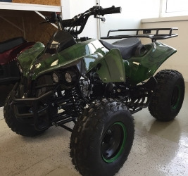 Atv Kxd Model:Warrior 125 cc/Roti de 8 Inch