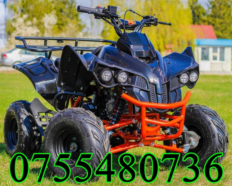Atv Kxd Model:Warrior 125#NEGRU-1