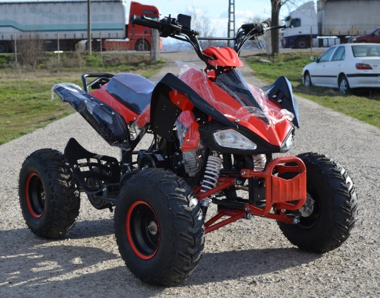 Atv Nitro Model:Raptor 125cc/Roti de 8 Inch-2
