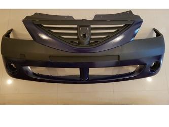 Bara fata cu proiectoare Dacia Logan 04 - 09 PH1 vopsita Albastru Jand