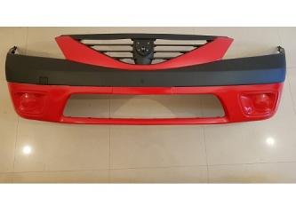 Bara fata Dacia Logan 1 MCV fara proiectoare , vopsita rosu passion 21