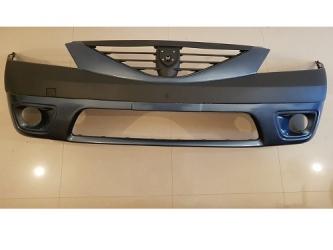 Bara fata Dacia Logan MCV cu proiectoare , vopsita Albastru electric -