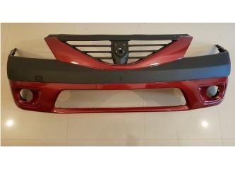 Bara fata Dacia Logan MCV cu proiectoare , vopsita rosu 21B