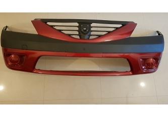 Bara fata Dacia Logan MCV fara proiectoare , vopsita rosu 21B