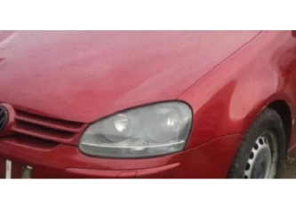 Bara fata VW Golf V 03 - 08 vopsita visiniu Produs Nou