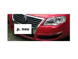 Bara fata VW Passat B6 05 - 10 vopsita rosu Produs Nou