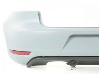 Bara spate VW Golf VI 08 - 12 vopsita alb Produs NOU