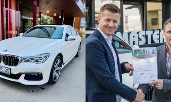 BMW Seria 7 730 diesel 2016 plus BONUS 10.000 euro de la Lorand Soares
