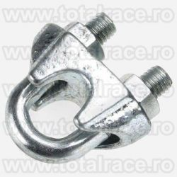Brida zincata pentru cabluri cu diametru de la  Ø5 la  Ø40