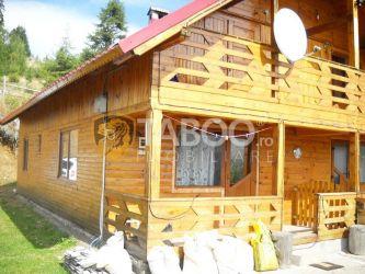 Cabana cu 4 camere de vanzare pe Transalpina judetul Alba