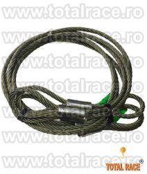 Cabluri legare cu capete mansonate  cu inima metalica