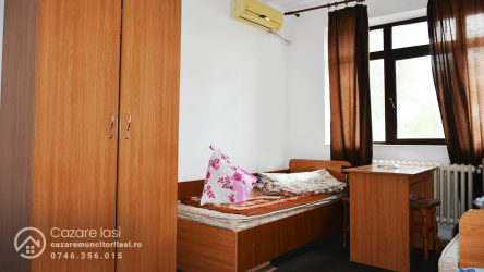 Camere de inchiriat in Iasi, in regim de hostel, pentru muncitori